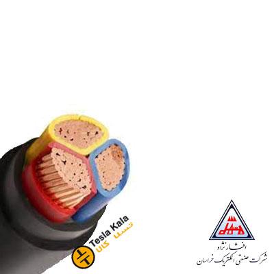 کابل قدرت زمینی نمره 1.5×3 برند افشار نژاد خراسان ( صد متر )