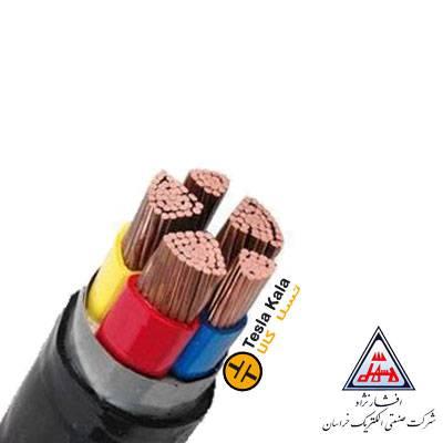 کابل قدرت زمینی نمره 1.5×5 برند افشار نژاد خراسان ( صد متر )