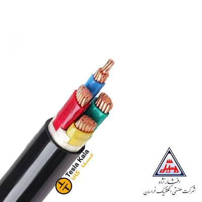 کابل قدرت زمینی نمره 1.5×4 برند افشار نژاد خراسان ( صد متر )
