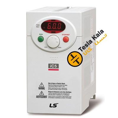 درایو (اینورتر) LS تکفاز، توان 0.37 کیلووات سری SV004IC5-1