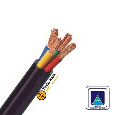 کابل افشان سطح مقطع 0.5 در چهار رشته برند البرز الکتریک نور (صد متر)