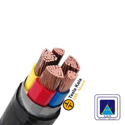 کابل قدرت زمینی نمره 6×5 برند البرز الکتریک نور ( صد متر )