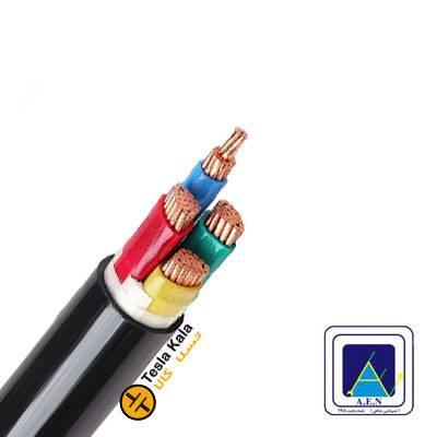 کابل قدرت زمینی نمره 1.5×4 برند البرز الکتریک نور ( صد متر )