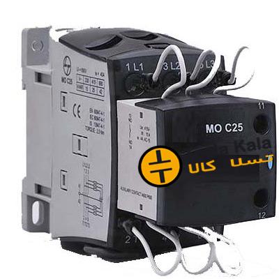 MO C25 - تسلاکالا- قیمت انواع تجهیزات تابلو بانک خازنی، کلید اتوماتیک و کنتاکتور