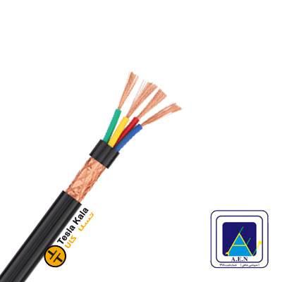 کابل افشان شیلددار سطح مقطع 1.5 در چهار رشته برند البرز الکتریک نور (صد متر)